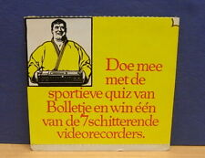 1x Sticker - aufkleber Anton Geesink / Bolletje / Judo with org.back 80's (1695)