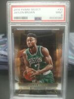 48055199 2016 Panini Select 33 Jaylen Brown RC Rookie PSA 9 MINT