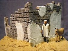 1/35 Scale - Tobruk Ruin suit WW2 North African Ruined building military model