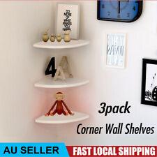 Levede HO0309-LB 5 Tier Modern Corner Wall Shelf
