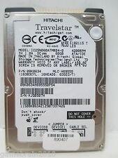 """Hitachi IC25N060ATMR04-0 (Model) p/n 08K0634 60GB 2.5"""" IDE HDD - SOLD AS IS"""