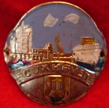 Cuxhaven used badge mount stocknagel hiking medallion G5199