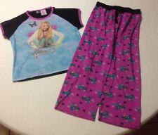Hannah Montana Girls 10-12 PJ Set
