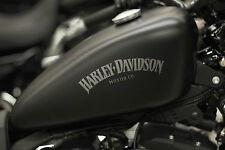 Harley Davidson sticker x2 Tank Decal