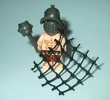 ROMAN Lego Gladiator w/ Mace & Net NEW Castle Custom Flesh Genuine Lego parts