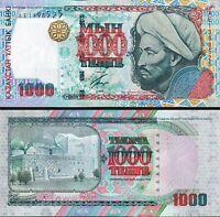 Kazakhstan 1000 Tenge 2000, UNC, P-22, Al-Farabi