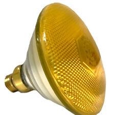 PHILIPS 100W PAR38 Colortone® Indoor/Outdoor Flood Light - Yellow #JWD-PAR38Y
