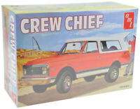 AMT / VRC Hobbies 1972 Chevy Blazer Crew Chief 1:25 Plastic Model Truck Kit 897