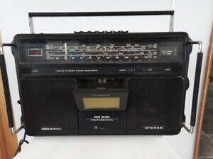 Grundig Professional RR640 Cassette/Radio