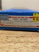 HO Scale E & C Shops 0302  Rock Island 50' PS-1 Double Door Boxcar RI 64599