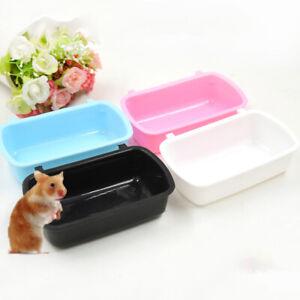 Pet Hamster Feeder Rabbit Bowl Small Animal Supplies Feeding Watering Bowl Tool