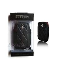 Funda Ferrari Maranello Blackberry Piel Negra