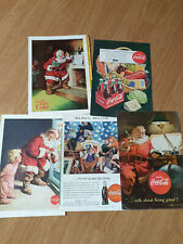 Images publicitaires anciennes coca cola - rare - collector
