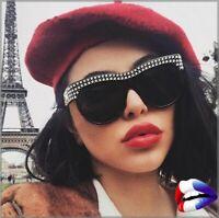 💯 Lunettes de soleil sunglasses style CLUB homme femme CD STRASS christian💯