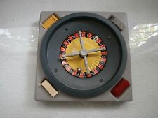 Vintage Original Soviet USSR Board Game Casino Roulette Functional Condition 70s