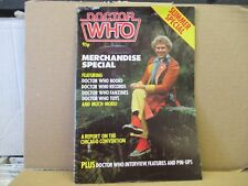 Doctor Who Magazine Merchandise Summer Special UK  Marvel 1984