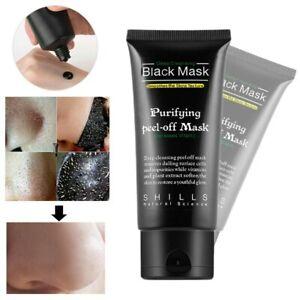 Nettoyant Masque Charbon 50 ml Anti Point Noir Acné Visage Black Mask points