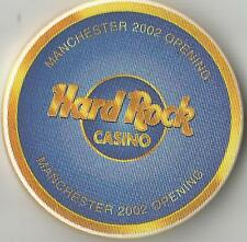 MANCHESTER   HARD ROCK CASINO  2002 GRAND OPENING UK  CHIP