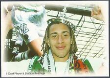 FUTERA-CELTIC 1999- #77-PLAYER & STADIUM MONTAGE-SWEDEN-HENRIK LARSSON