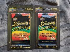 Upper Deck 2019 Goodwin Champions 1 Pack 5 Cards Factory