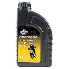 Silkolene SCOOT SPORT 4 5W-40 Semi Synthetic 4-Stroke 4T Engine Oil 1 Litre 1L