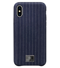 iPhone XS/X Case Cyrill Denim Bleu