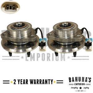 2x Chevrolet Captiva 2006-2018 Front Hub Wheel Bearing Kit Pair Inc ABS Sensor