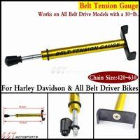 Gold Belt Tension Gauge Belt Tensioner Tool For Harley & All Belt Driver Bikes
