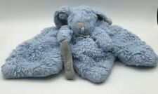 Blankets and Beyond Rabbit Bunny Blue Gray Lovey Security Blanket Baby Plush