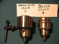 """BRAND NEW HEAVY DUTY 1/2"""" DRILL CHUCK UPGRADE REPLACES DELTA 1310049 DRILL CHUCK"""