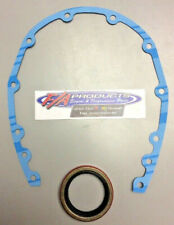 Fel-Pro 5124 + 14842 Small Block Chevy Timing Cover Gasket With Seal