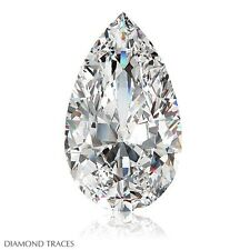 1.10ct F-I1 VG-Cut Pear Shape AGI 100% Genuine Diamond 8.45x5.30x3.78mm