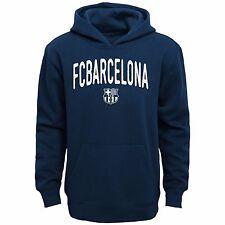 Licencia Oficial FC Barcelona juvenil Azul Marino Con Capucha 100% algodón SM-XL