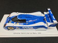 1/43 Toyota TS010 #33 Sekiya/Raphanel/Acheson 2nd 24h Le Mans 1992 SPARK S7703