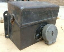 1915 1916 Model T Ford COIL BOX w/ SWITCH / LID Original one piece top