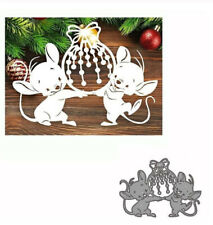metal cutting dies mold Animal mouse Scrapbook paper craft blade punch stencils