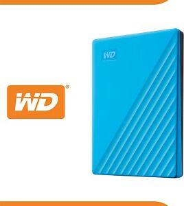 Brand New WD Western Digital My Passport 2TB Portable Hard Drive USB 3.0 - Blue