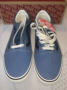 Vans Old Skool Earth Skateboarding Sneakers  Blue, Size 11 NWT
