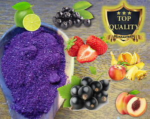 Dried Fruit Powders - BEST PRICE!!! - Lollies Smoothies Shakes Cake Cream