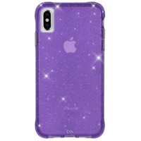 Case-Mate Iphone Xs Max Sheer Crystal  Purple Case