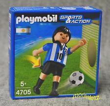 Playmobil 4705 Fußballspieler Argentinien Fußball Sports & Action Neu