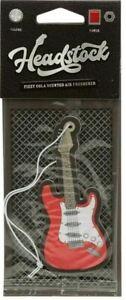Guitar Shaped Air Freshener, Fizzy Cola Scent for Car, Van, Locker, Novelty Gift