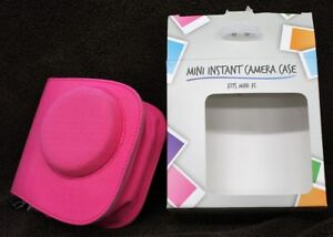 Instant Mini Camera Case Zip Up Canvas Pink for Instant Mini 7s M507