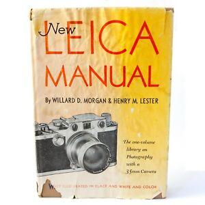 1953 NEW LEICA MANUAL HARDBACK BOOK - MORGAN & LESTER