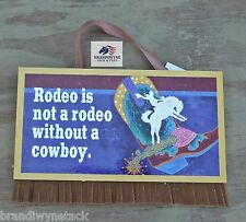 Rodeo wooden sign~New