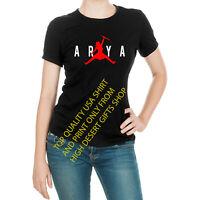 Arya Stark Game of Thrones Not Today Jordan Jump Women's T-Shirt