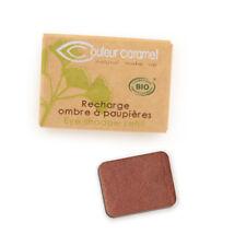 Recharge Fard à Paupières n°143 Marron Cuivré nac  Bio - 1,3 g - Couleur Caramel