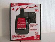 Schumacher 100-Watt DC to AC Power Converter Adapter USB 120V SI4 NEW IN BOX
