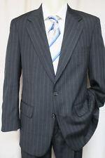 BURBERRYS' PRORSUM Suit 40 / 41R Gray Stripe 2 button 36x30 pants BURBERRY
