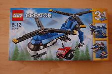 Lego Creator   Doppelrotor Hubschrauber 31049  Neu OVP